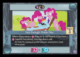 My Little Pony Not Enough Pinkie Pies Premiere CCG Card