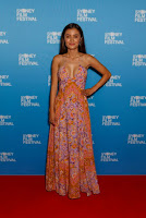 Naomi Sequeira That's Not Me Premiere beat red carpet dresses at Sydney Film Festival