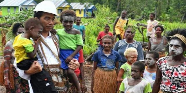 Jokowi, Papua dan Pencitraan