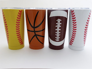 personalized stainless sports tumblers