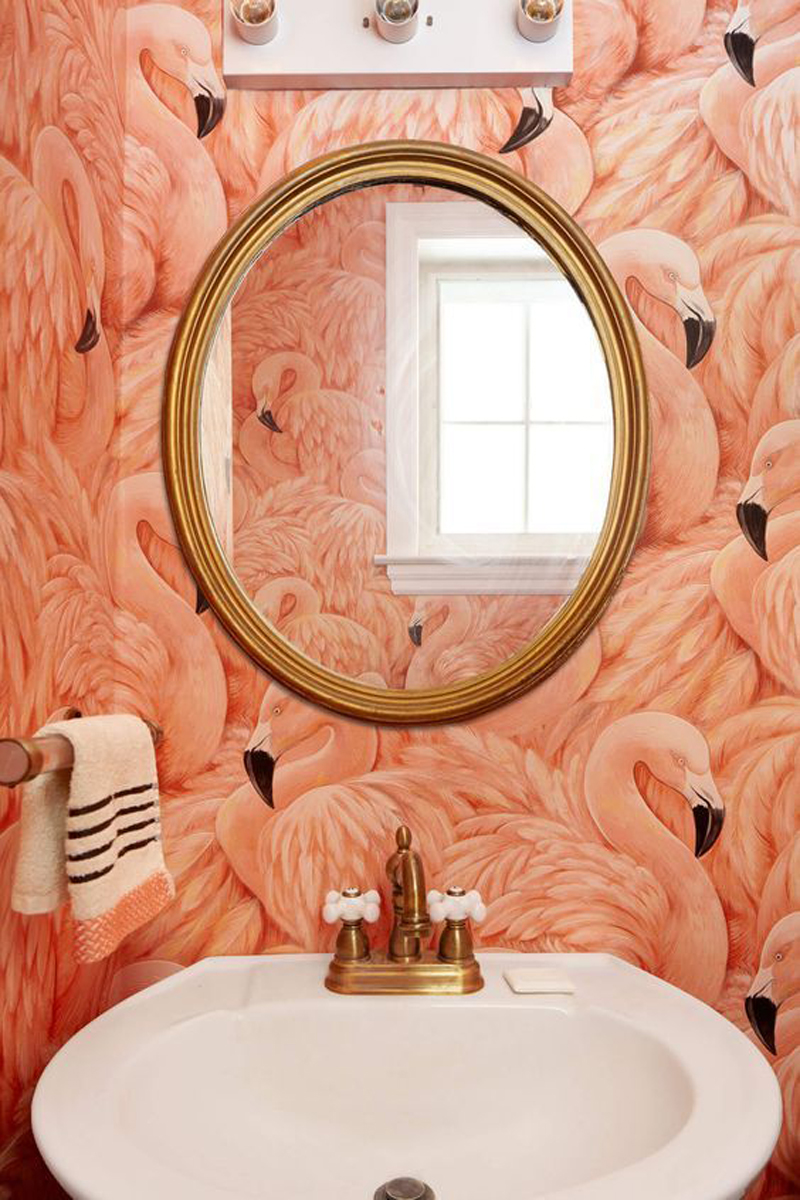 I Donu0027t Think Tom Would Be Majorly Keen On A Pink Flamingo Bathroom But A  Girl Can Dream Right?