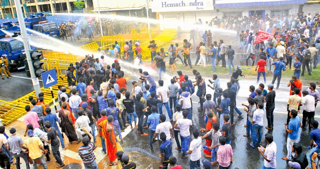 University Students Protest against New Governments progress on Education reforms