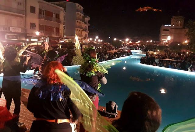 «Ποδαράτη» Νυχτερινή Παρέλαση των Καρναβαλιστών στο Άργος!