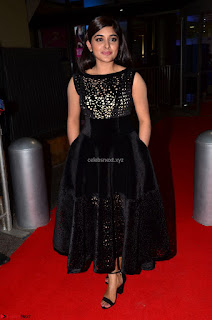 Niveda Thomas Black Sleeveless Cute Dress at 64th Jio Filmfare Awards South 2017 ~  Exclusive 054.JPG