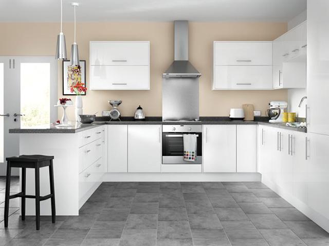 không gian bếp đẹp đơn giản
