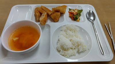 south korea cafeteria food