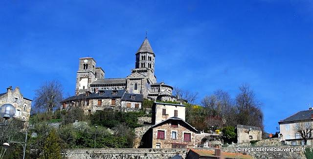 Eglise de Saint Nectaire.