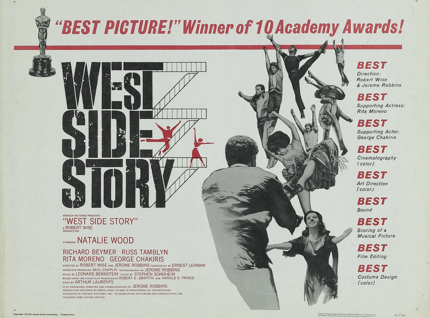 WEST SIDE STORY (1961)  WEB SITE