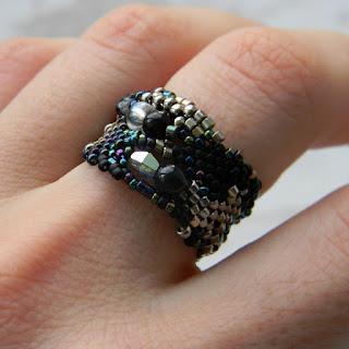 красивые кольца для девушек кольца ручной работы из бисера