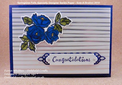Stampin' Blends, Petal Passion, Sale-A-Bration, Stampin' Up!, Oakfield Crafts