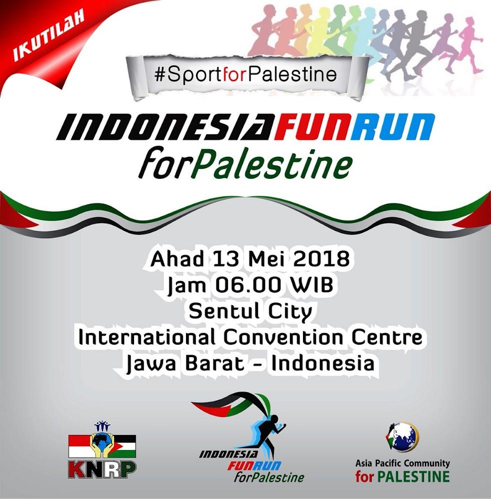 Indonesia Fun Run for Palestine • 2018