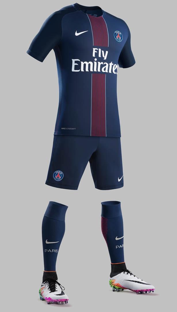 Nike divulga nova camisa titular do PSG - Testando Novo Site bad74a6770251