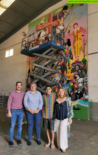 Okuda San Miguel crea una obra para el CEMFAC de Los Llanos de Aridane