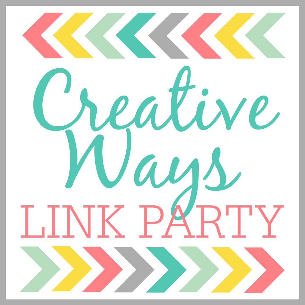 "Creative Ways Link Party"" border="