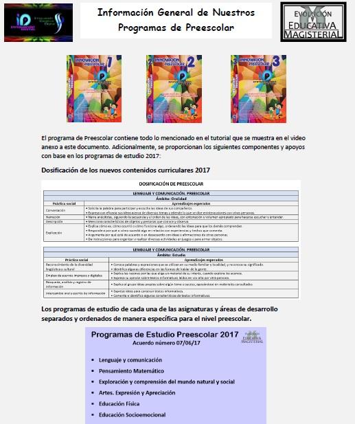 Producto de plan 2011 de Innovacion Digital para preescolar.