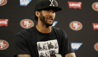 Colin Kaepernick Grilled By Miami Dolphins Reporter Over Fidel Castro Shirt