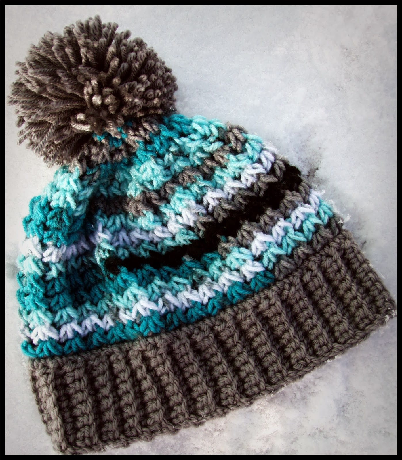 2ce26489b25 This Housewife Life  Trinity Hat Beanie ~ With or Without Pom~Pom ...