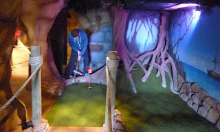 Treasure Island Adventure Golf course in Bridlington