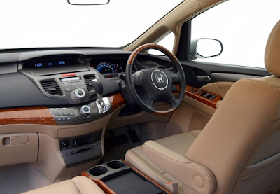 Interior Honda Odyssey Absolute