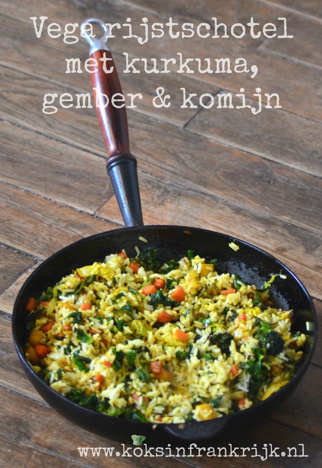 Vegetarische vrijdag: rijstschotel zelf maken zonder pakjes
