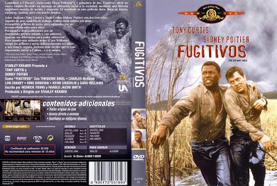 Fugitivos | 1958 | The Defiant Ones | Caratula - Cine clásico