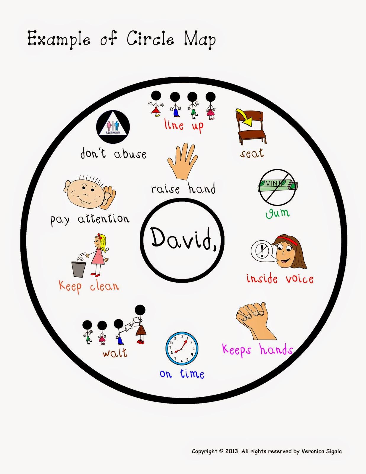 Circle Map Worksheet Pictures To Pin
