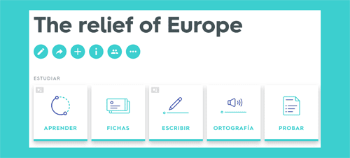 The relief of Europe Quizlet Study Unit