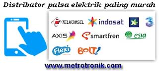 Pulsa Elektrik Paling Murah Seindonesia Bebas Cluster