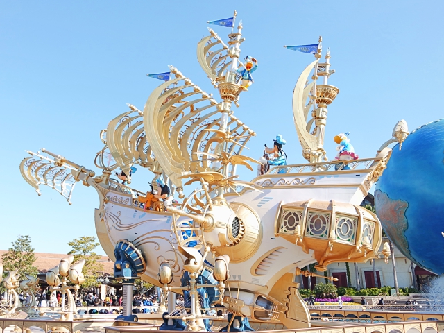 Steampunk Disney Explorer Ship