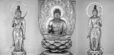 木造阿弥陀三尊像