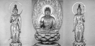浄楽寺阿弥陀三尊像