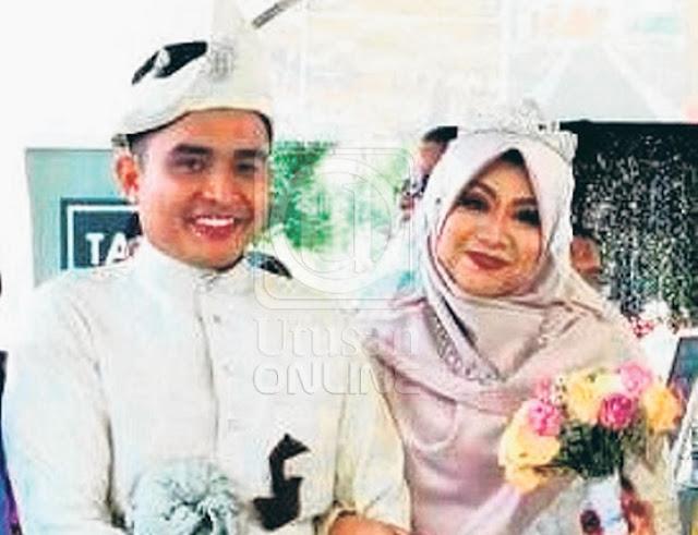 Pilu, Suami Bacakan Talkin Untuk Isteri Selepas 4 Hari Berkahwin