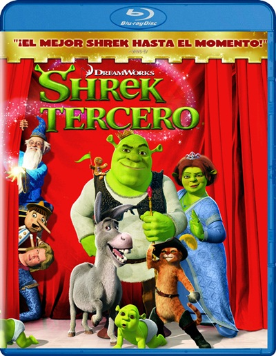 Shrek 3 1080p HD Latino Dual