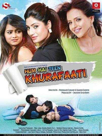 Hum Hai Teen Khurafaati (2014) Movie Poster