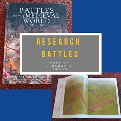 Battles of the Medieval World, History Books, Homeschool