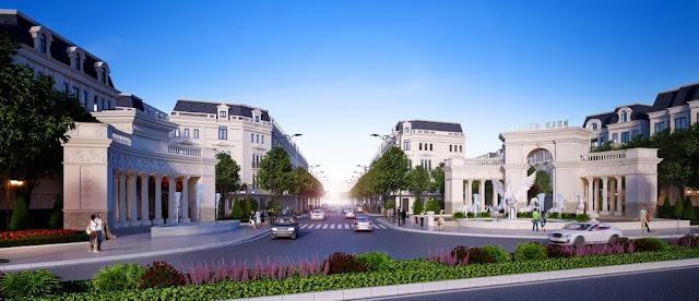 Kiến trúc cổng chào hoàng gia Pháp tại Louis City