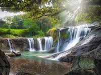 Wisata Air Terjun Danggang Sapaya Gowa Sulawesi Selatan