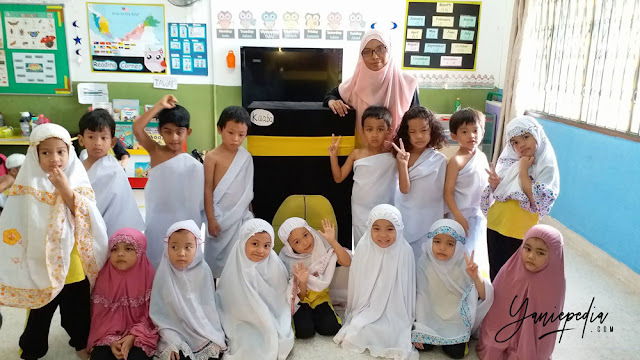 kids activities in little bumblebee montessori preschool shah alam
