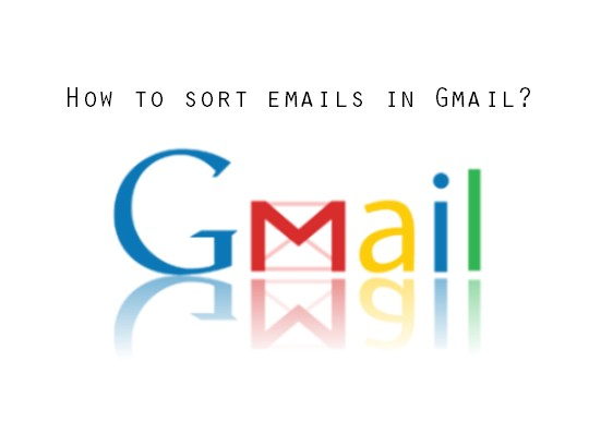 How to sort emails in Gmail by sender, date etc.