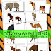 Matching Animal Halves Printable Activity