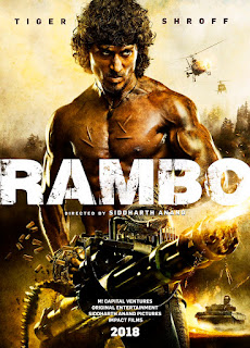 Rambo First Look Tiger Shroff