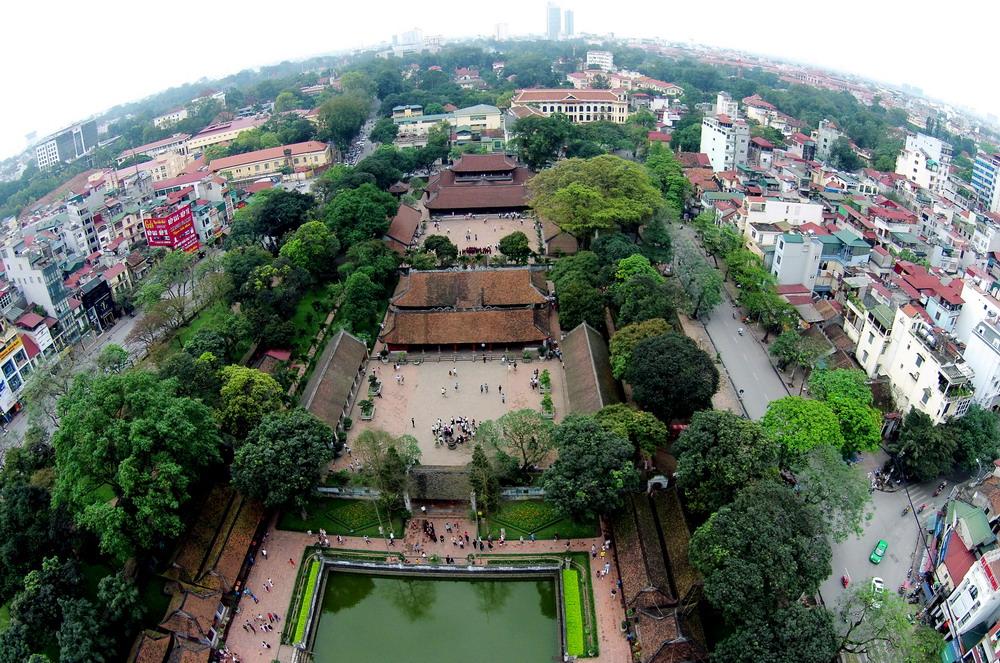 Temple of Literature Hanoi Vietnam Photos
