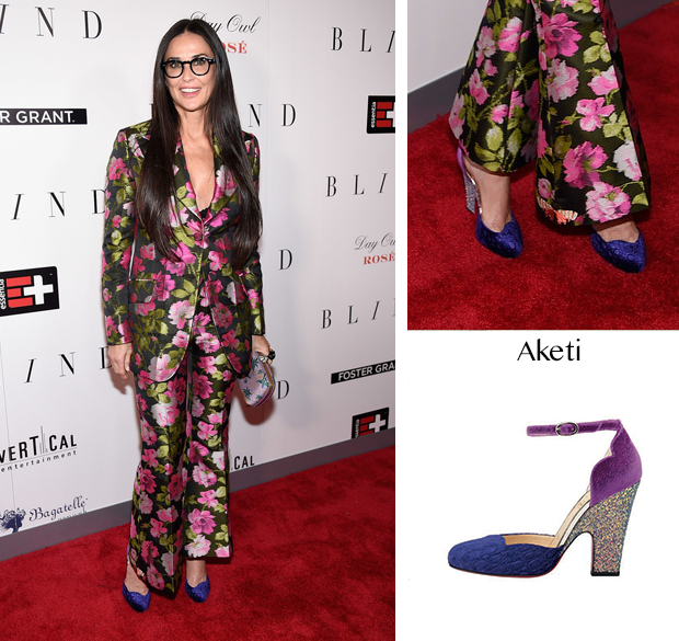 0a34430e2fa8 Demi Moore -  Blind  New York Premiere