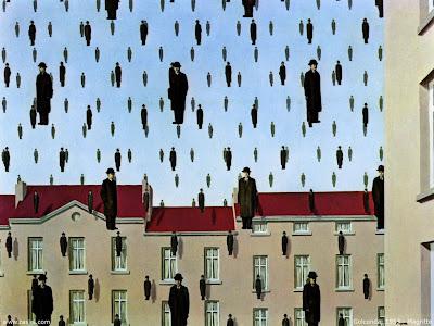 Αποτέλεσμα εικόνας για πινακας με βροχη ανθρωπων