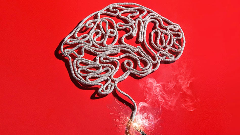 cerebro mecha prendida