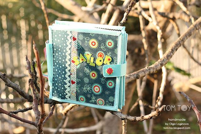 Quiet book for Saylor Развивающая книжка
