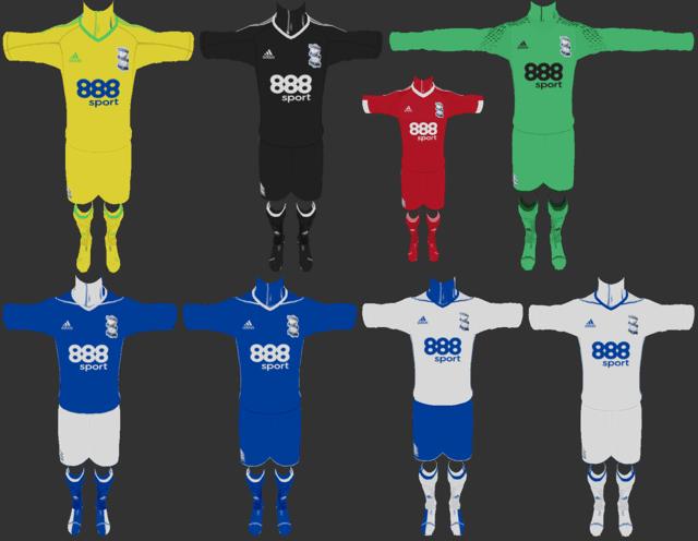 1682437eb Birmingham City 2017 18 Full Kits PES 2013 PATCH PES