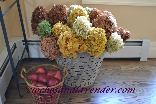 Cloches & Lavender- Fall Kitchen-From My Front Porch To Yours-Treasure Hunt Thursday
