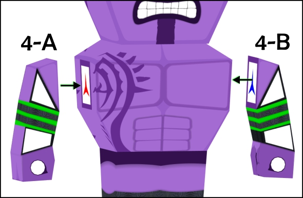 attaching faceless void's arms