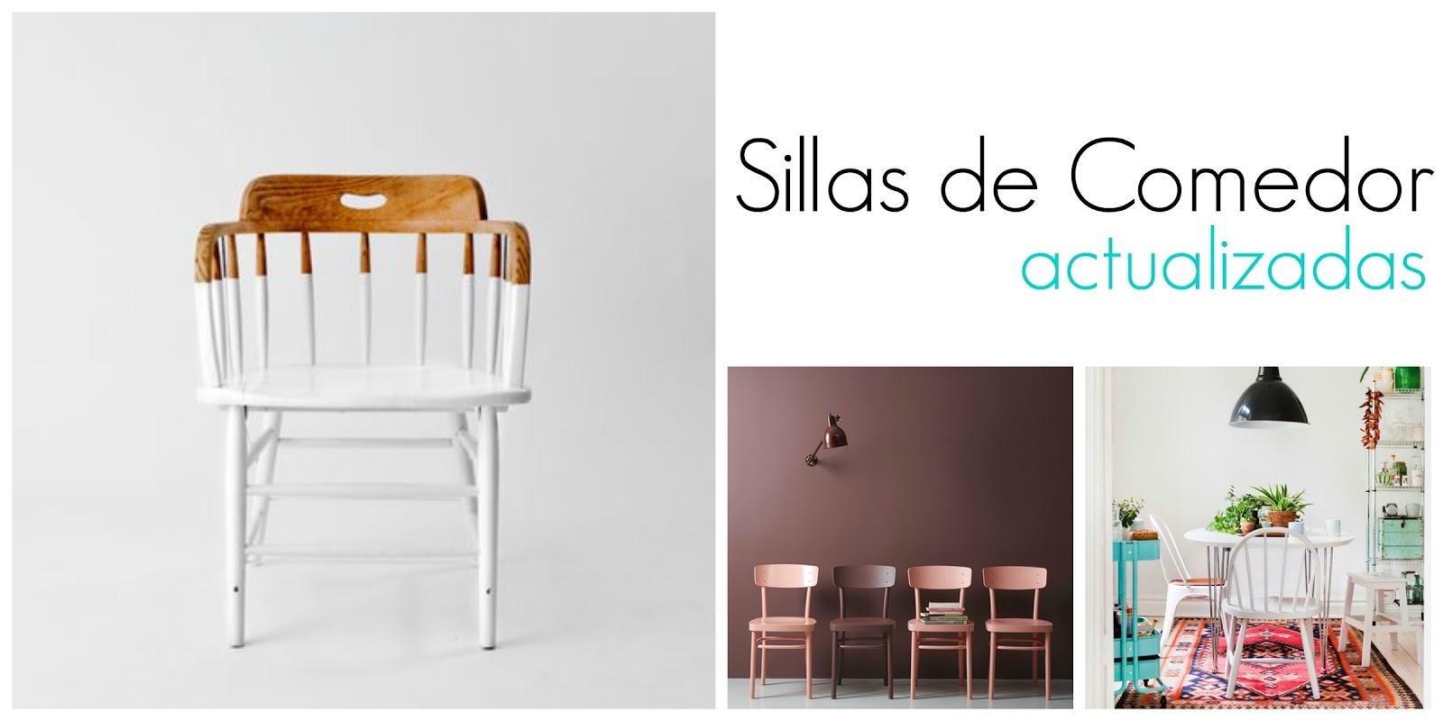 Inspiraci n sillas de comedor actualizadas for Sillas comedor 2016